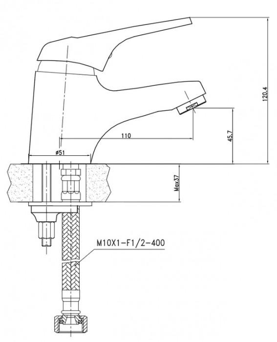 Смеситель для кухонной мойки kaiser douglas 12055-6s, цена на %product lower%, купить %product lower% в москве